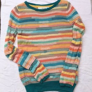 Anthropology Striped Sweater